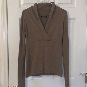 PattyBoutik Tan Sweater